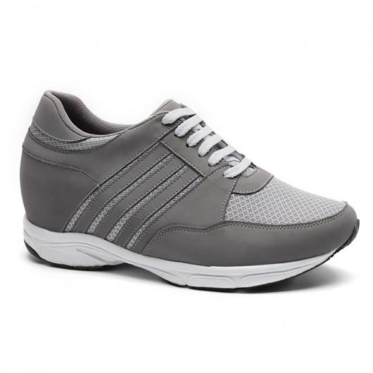 Chamaripa scarpe da ginnastica con rialzo interno scarpe con tacco alto uomo scarpe per sembrare più alti 8.5 CM