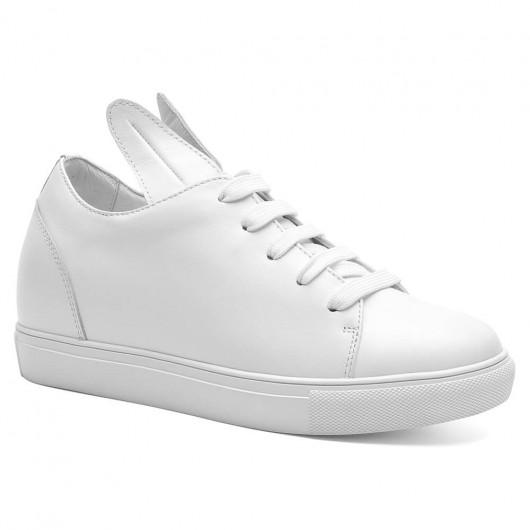 Chamaripa scarpe sportive per ragazze basse scarpe per donne basse scarpe donna con rialzo 8 CM