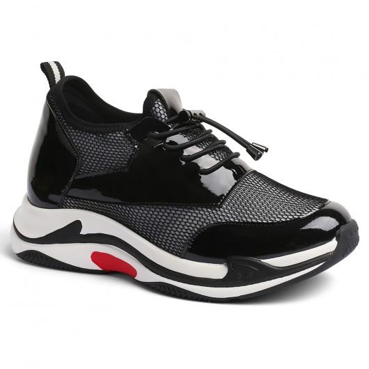 CHAMARIPA Chunky sneakers donne sneakers con suola alta scarpe rialzate donna 8 CM