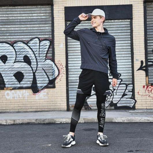 Chamaripa scarpe con rialzo da uomo scarpe da uomo con tacco scarpe uomo per aumentare altezza grigio scuro 8.5CM