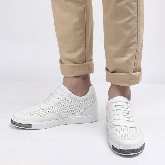 Chamaripa casuale rialzo scarpe uomo rialzate scarpe stringate basse uomo 6 CM