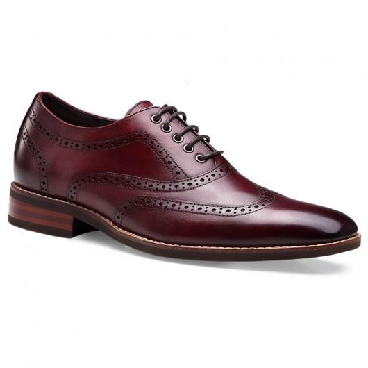 Chamaripa scarpe rialzanti uomo scarpe alte uomo eleganti scarpe uomo per aumentare altezza 5CM