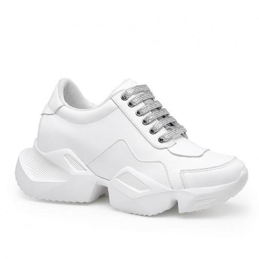 Chamaripa scarpe rialzate donna scarpe tacco alto uomo scarpe sportive con tacco chunky sneakers 8 CM