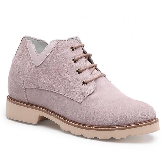 Chamaripa scarpe con rialzo interno donna scarpe rialzate ragazza scarpe rialzo interno donna 7 CM