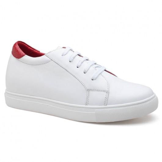 scarpe da ginnastica con tacco interno sneakers con zeppa scarpe tacco alto 7CM / 2.76 pollici