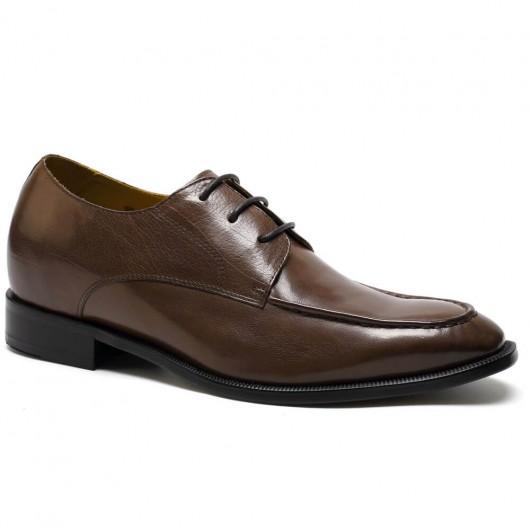 Chamaripa scarpe rialzate scarpe uomo con tacco interno scarpe sposo con con rialzo 7 CM