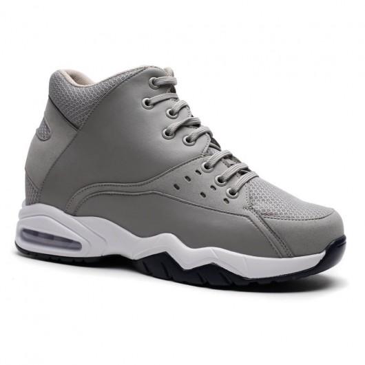 Chamaripa scarpe con rialzo uomo scarpe da ginnastica con tacco scarpe da ginnastica con rialzo interno 9.5 CM