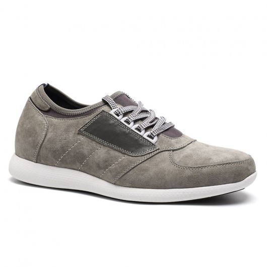 scarpe da tennis scarpe da ginnastica con tacco interno 7CM scarpe con tacco interno uomo