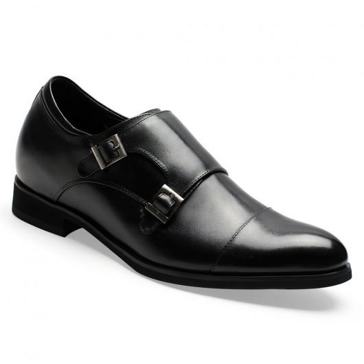 Chamaripa scarpe eleganti scarpe uomo con rialzo scarpe rialzo scarpe sposo 7 CM