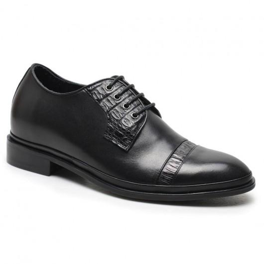Chamaripa scarpe rialzate artigianali uomo tacco scarpe su misura scarpe con tacco alto per uomo 7CM