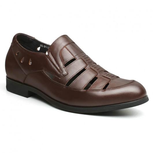 Chamaripa scarpe uomo con rialzo interno sandalias de verano per uomo scarpe con tacco da uomo 6 CM