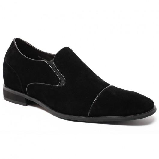 Chamaripa scarpe con tacco scarpe rialzo interno rialzi interni per scarpe uomo 7CM