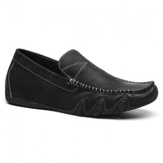 Chamaripa mocassini con tacco uomo scarpe da uomo con tacco interno scarpe per sembrare più alti 5 CM
