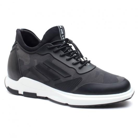 Chamaripa scarpe con rialzo interno scarpe con tacco alto scarpe uomo per aumentare altezza 7 CM