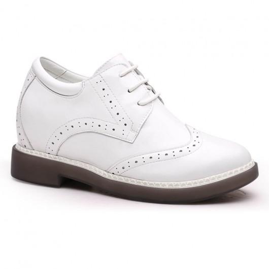 Chamaripa scarpe con rialzo interno donna scarpe con zeppa interna scarpe con rialzo donna 7 CM