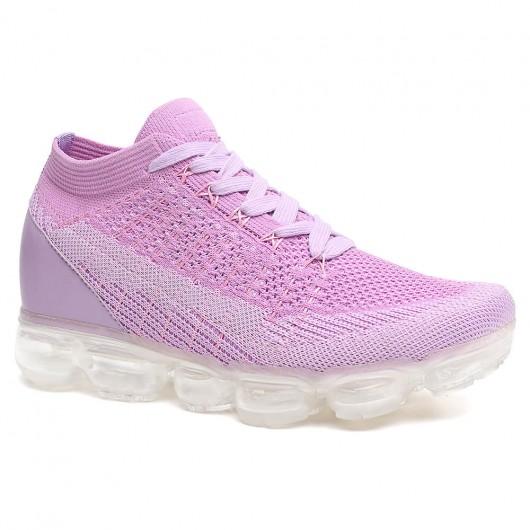 sneakers tacco interno scarpe con il tacco scarpe con rialzo interno donna 7 CM