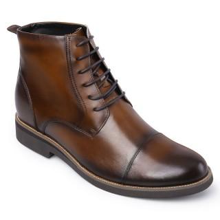 Chamaripa scarpe rialzate stivali con rialzo interno business scarpe bruin scarpe uomo con tacco alto interno 8CM