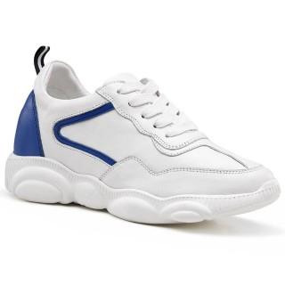 Chamaripa scarpe con rialzo interno scarpe rialzate donna scarpe rialzate 8 CM UP