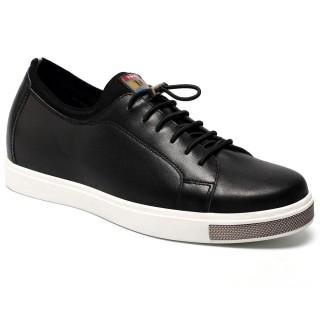 Elevator Shoes For Men Casual Loafer Black Taller Shoes