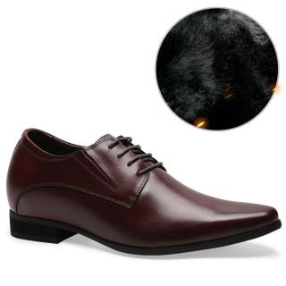 Chamaripa scarpe eleganti uomo alte scarpe uomo per aumentare altezza scarpe con rialzo interno uomo 8 CM