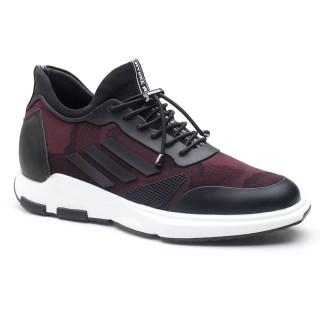 scarpe da uomo con rialzo scarpe da ginnastica con rialzo interno scarpe rialzo sportive 7 CM