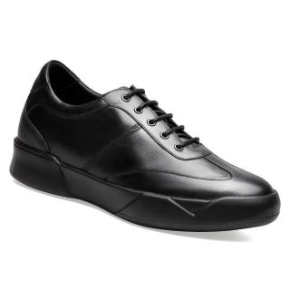 casuale rialzo scarpe uomo solette rialzate per scarpe scarpe con tacco interno 7CM