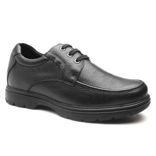 Chamaripa scarpe rialzate eleganti scarpe uomo rialzo interno scarpe uomo tacco alto nero Oxford 6 CM