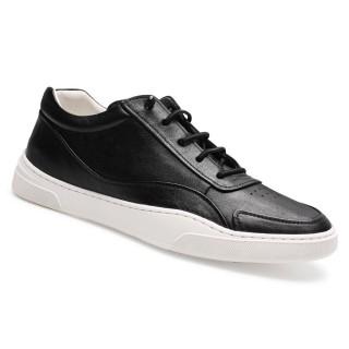 Chamaripa scarpe con rialzo interno scarpe da ginnastica con tacco interno nero scarpe con rialzo da uomo 5 CM