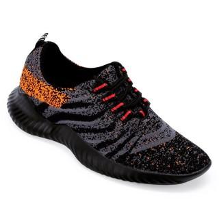 Chamaripa scarpe rialzate uomo scarpe sportive con tacco interno leggere scarpe sportive rialzate 6 CM
