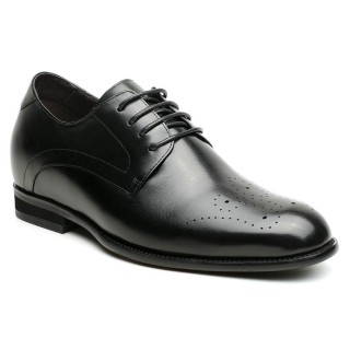 7 CM scarpe eleganti uomo con rialzo scarpe stringate uomo scarpe uomo nere eleganti