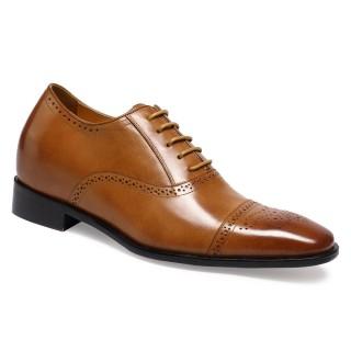 Chamaripa scarpe per essere più alti scarpe rialzo interno scarpe diventare più alto 7 CM