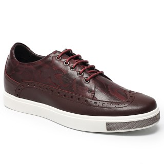 scarpe tacco interno uomo Height Elevator Shoes