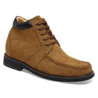 Chamaripa scarpe moto rialzate - stivali moto rialzati- stivali con rialzo interno 9 CM
