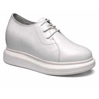 scarpe con rialzo interno donna scarpe tacco alto con la zeppa 8CM