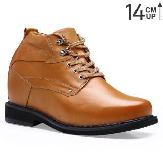 Chamaripa scarpe con rialzo scarpe rialzanti da uomo 14 CM scarpe da uomo con tacco interno